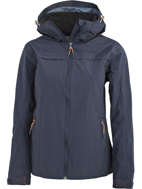 Tenson Mavia Jacket Women Dark Blue